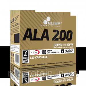 OLIMP Альфа ліпоєва кислота ALA 200 (120 caps)