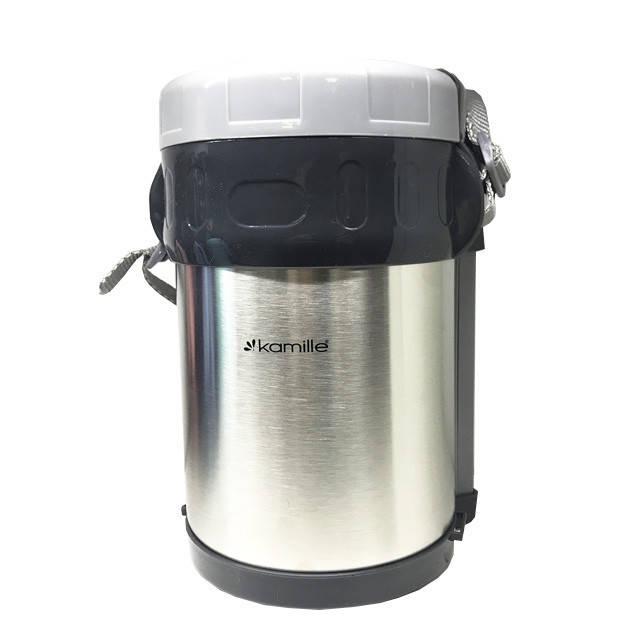 Термокружка, термос, стильная термочашка с Kamille 2000 ml
