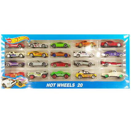 Машинки Hot Wheels (20 шт. в наборе)