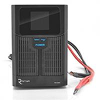 ИБП с правильной синусоидой RITAR RTSW-1500 LCD (1000Вт),12В, под внешний АКБ