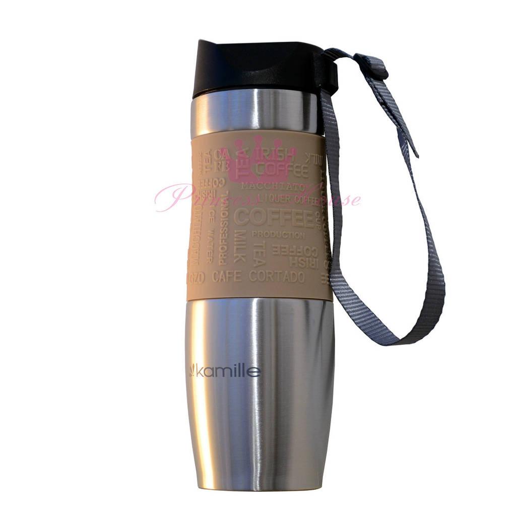 Термокружка - термобутылка, термос Kamille 480 мл