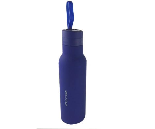 Термос с резиновой ручкой Kamille 475 ml