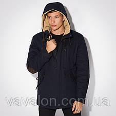 Зимняя удлиненная куртка- парка , фото 3