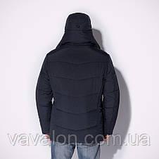 Удлиненная зимняя мужская куртка, фото 3