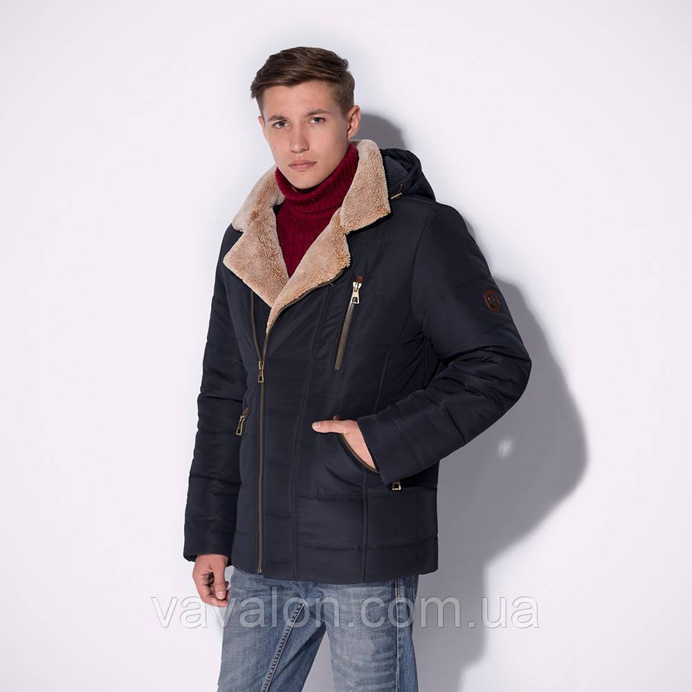 Стильная зимняя мужская куртка