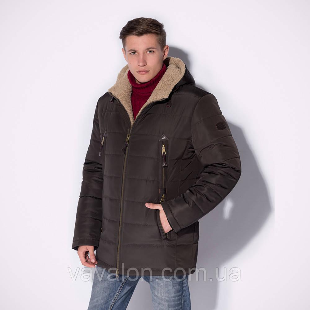 Зимняя мужская куртка!