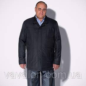 Куртка демисезонная Vavalon KD-165 B navy, фото 2