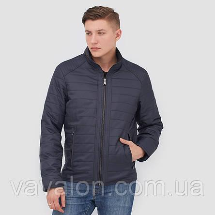 Куртка демисезонная KD-180 navy, фото 2