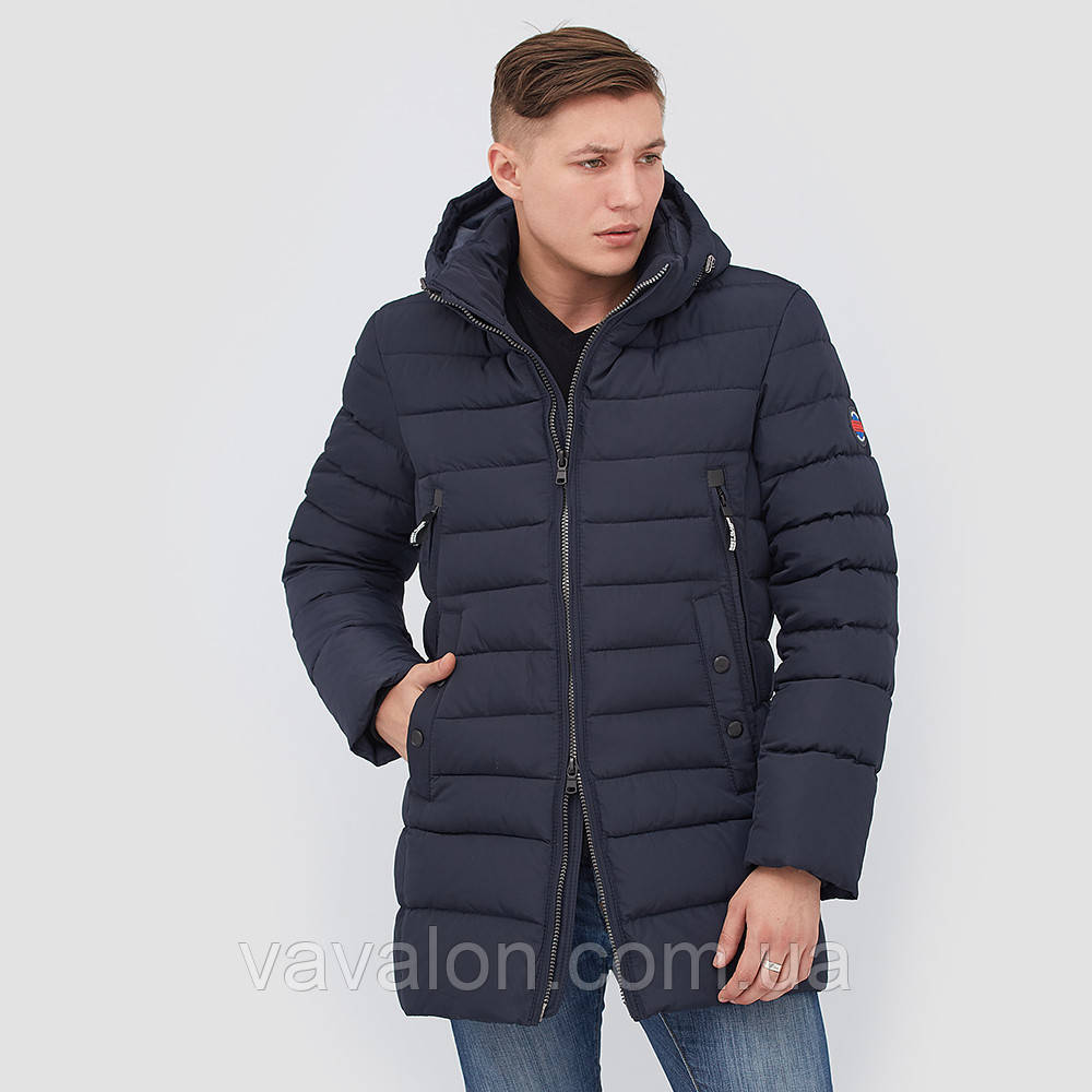 Зимняя мужская куртка Vavalon KZ-P246 navy