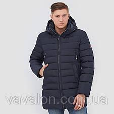 Зимняя мужская куртка Vavalon KZ-P246 navy, фото 2