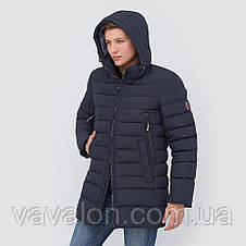 Зимняя мужская куртка Vavalon KZ-P246 navy, фото 3