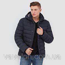 Зимняя мужская куртка Vavalon KZ-P247 navy, фото 3