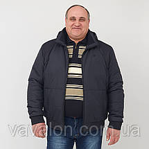 Демисезонная куртка. Увеличенные размеры, фото 3