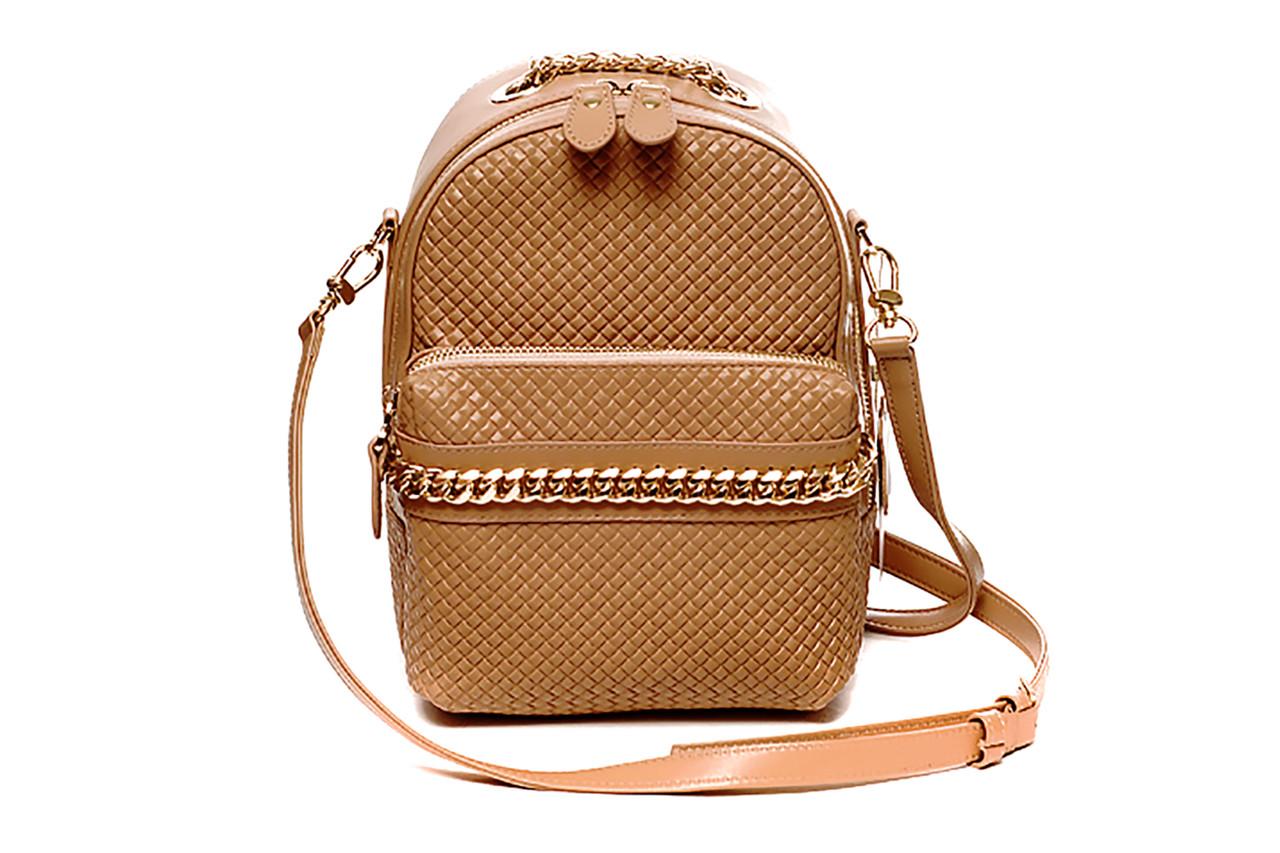 58abd3691ea2 Модная женская кожаная сумка через плече (кросс-боди) в оригинальной форме.  Модель