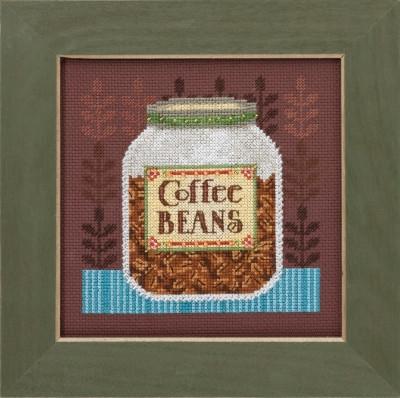 Набор для вышивки крестиком Coffee Server Кофейные зерна Mill Hill