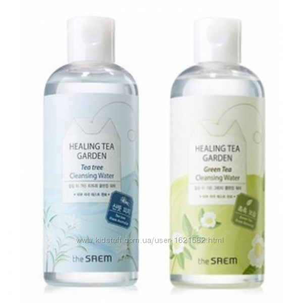 Очищающая вода THE SAEM Healing Tea Garden Cleansing Water 300мл