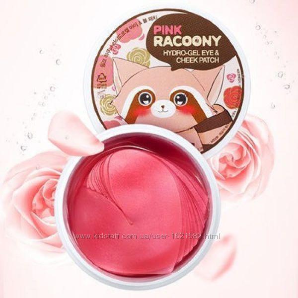 Гидрогелевые патчи для глаз щек SECRET KEY Pink Racoony Hydro-Gel Patch
