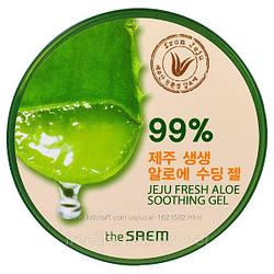 Универсальный гель с алоэ The Saem Jeju Fresh Aloe Soothing Gel 99