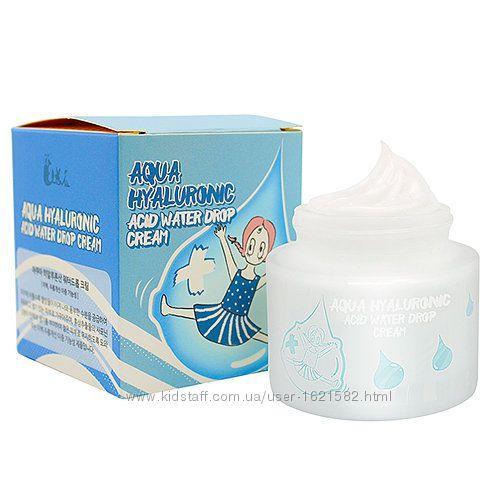 Увлажняющий гиалуроновый крем Elizavecca Aqua Hyaluronic Acid Water drop 50 мл Корея