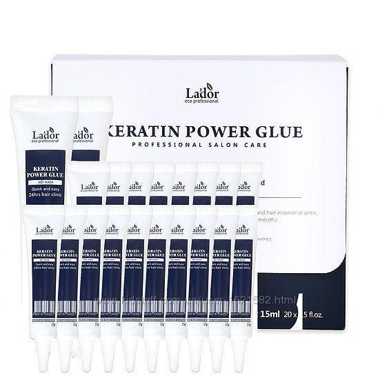 Кератиновая cыворотка-клей для посеченных кончиков Lador Keratin Power Glue