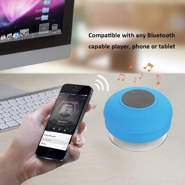 Bluetooth колонка для душа
