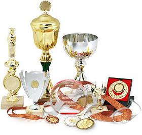 Наградная атрибутика: медали, кубки, статуэтки, дипломы