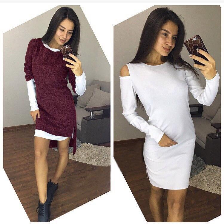 """Женский костюм платье-двойка """"Must Have""""  Распродажа"""