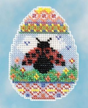 Набір для вишивки хрестиком Ladybug Egg Mill Hill