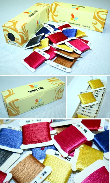 Шелковое мулине Sunny Silk (Южная Корея)
