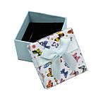 Коробочка для кольца Сarton Box 01-07 Mix бабочки BoxShop TM, фото 4