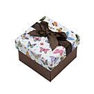Коробочка для кольца Сarton Box 01-07 Mix бабочки BoxShop TM, фото 5
