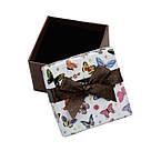 Коробочка для кольца Сarton Box 01-07 Mix бабочки BoxShop TM, фото 6