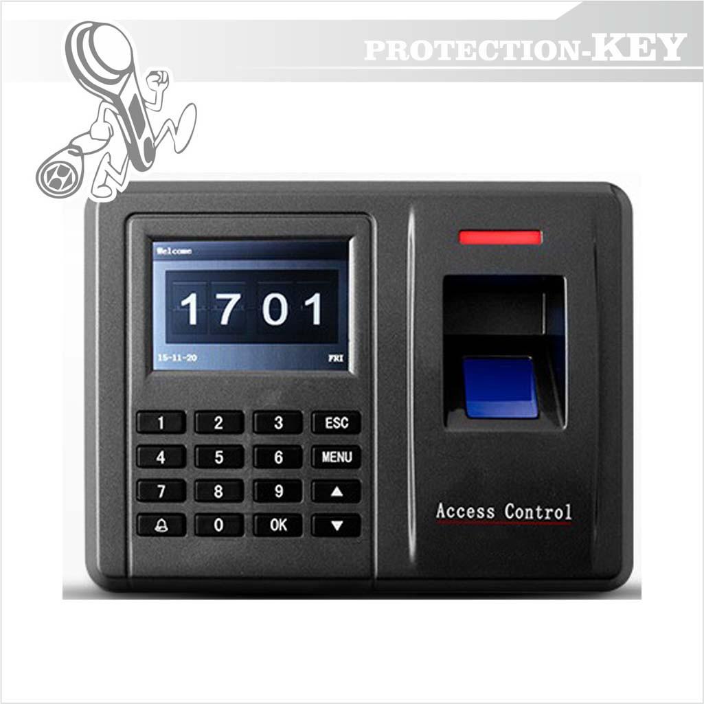 Биометрический терминал PK-F20 (биометрический контролер со встроенным считывателем и кодовой клавиатурой)
