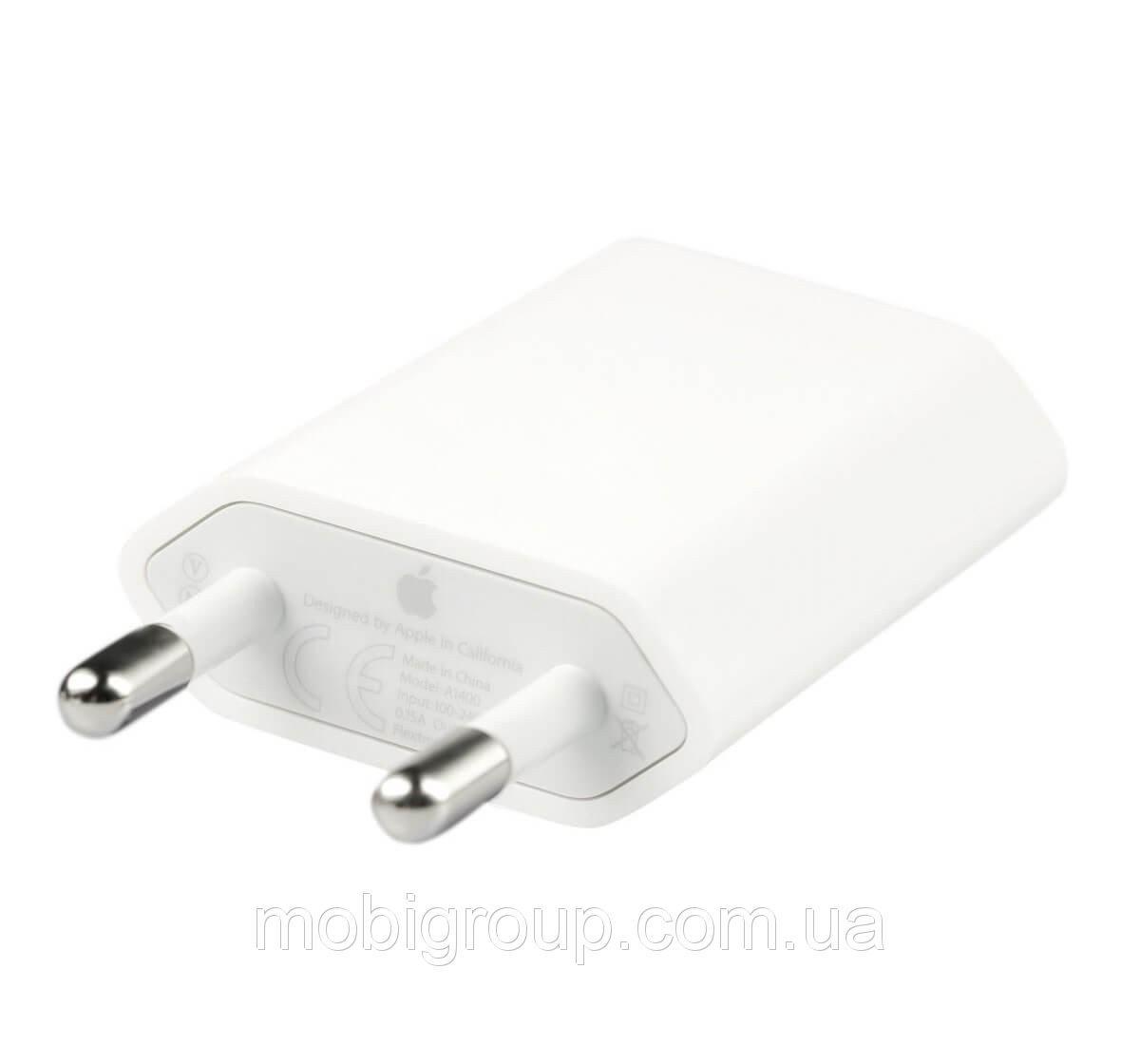 Оригинальный сетевой адаптер USB - блок питания 1A для IPhone/iPod/iPad Mini