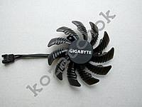 Вентилятор №45 кулер для видеокарты Gigabyte GTX 1080 1060 1070 ti  PLD08010S12HH T128010SU