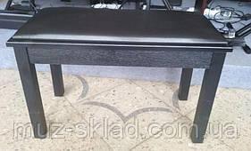 Банкетка для пианино Greaten DB-1 Black (двойная)