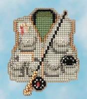 Набор для вышивки крестиком Fishing Vest Mill Hill