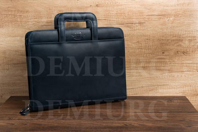 Стильный мужской портфель из натуральной кожи, фото 2