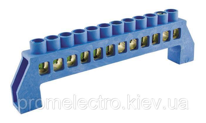 Шина нулевая изолированная (на 10 отверстий)