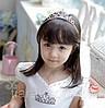 Диадема корона МИШЕЛЬ, детская диадема на обруче, фото 7