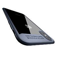 Чехол Baseus iPhone X Suthin D.Blue