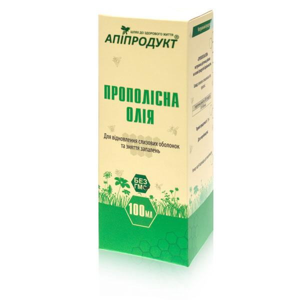 Прополисное масло 100 мл, Апипродукт.