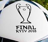 Мяч футбольный ADIDAS  FINALE KIEV TOP TRAINING CF1204 (размер 5), фото 7