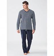 Хлопковый мужской домашний комплект   пижама KEY MNS 342 0751d99886bf6