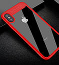 Чехол Baseus iPhone X Suthin Red, фото 2