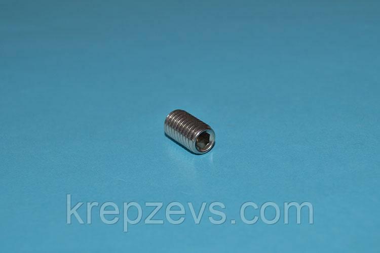Винт М3 DIN 914 оцинкованный