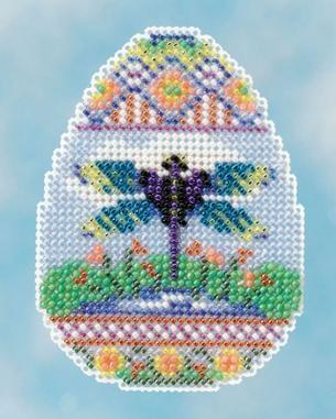 Набор для вышивки крестиком Dragonfly Egg Mill Hill