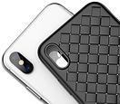 Чехол Baseus iPhone X Weaving Black, фото 6