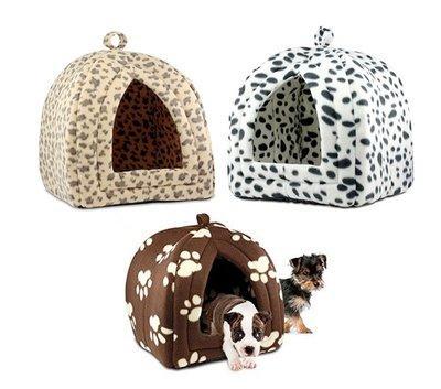 Мягкий домик для собак и кошек Pet Hutт цвета микс