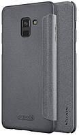 Чехол Nillkin Samsung A8+ (2018)/A730 - Spark Series Black